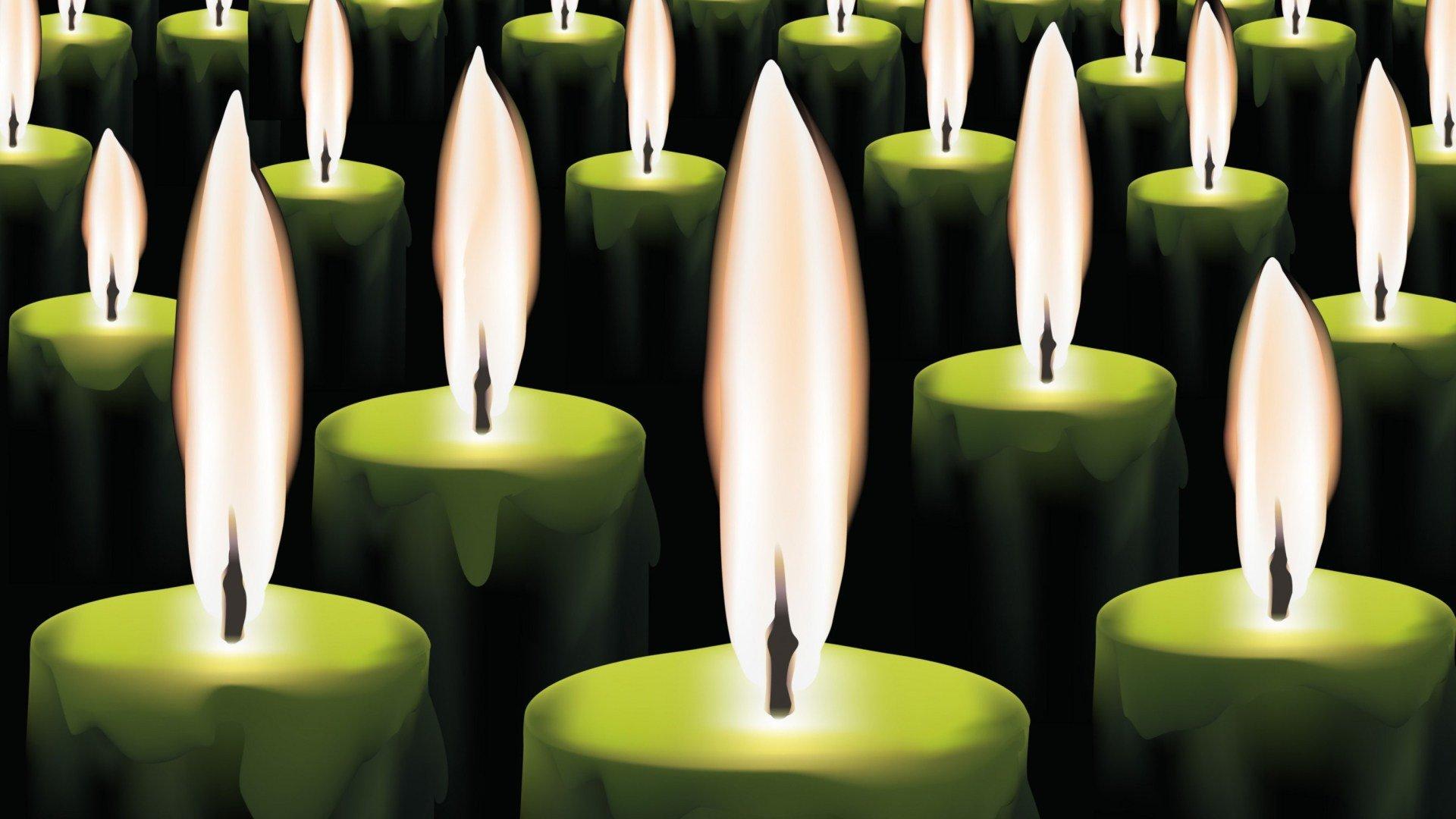 Как работают зеленые свечи для привлечения денег