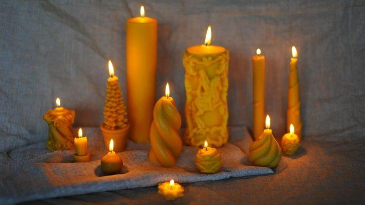 Отливка восковыми свечами