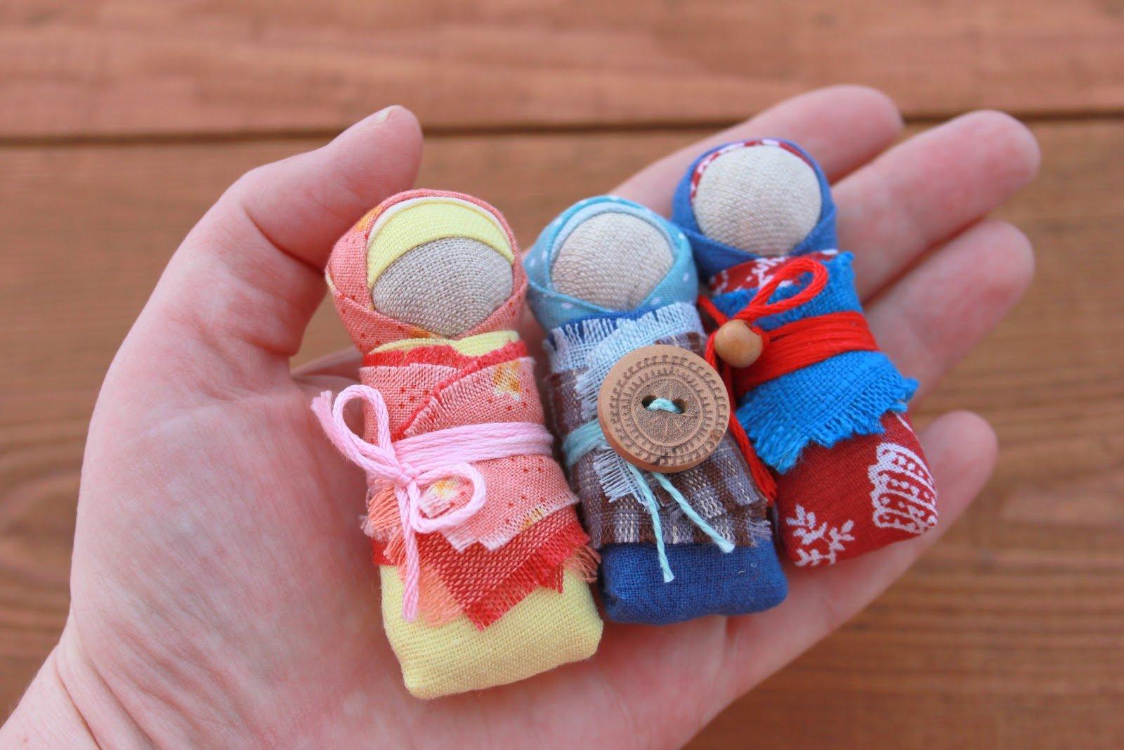 Оберег для ребенка кукла-пеленашка