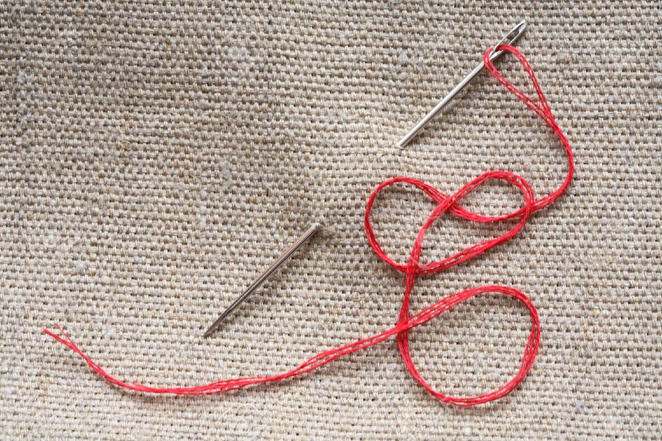 Белый приворот на нитку