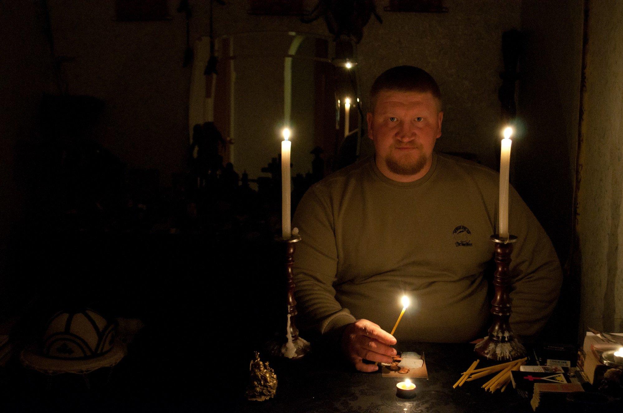 Подготовка к ритуалу приворота