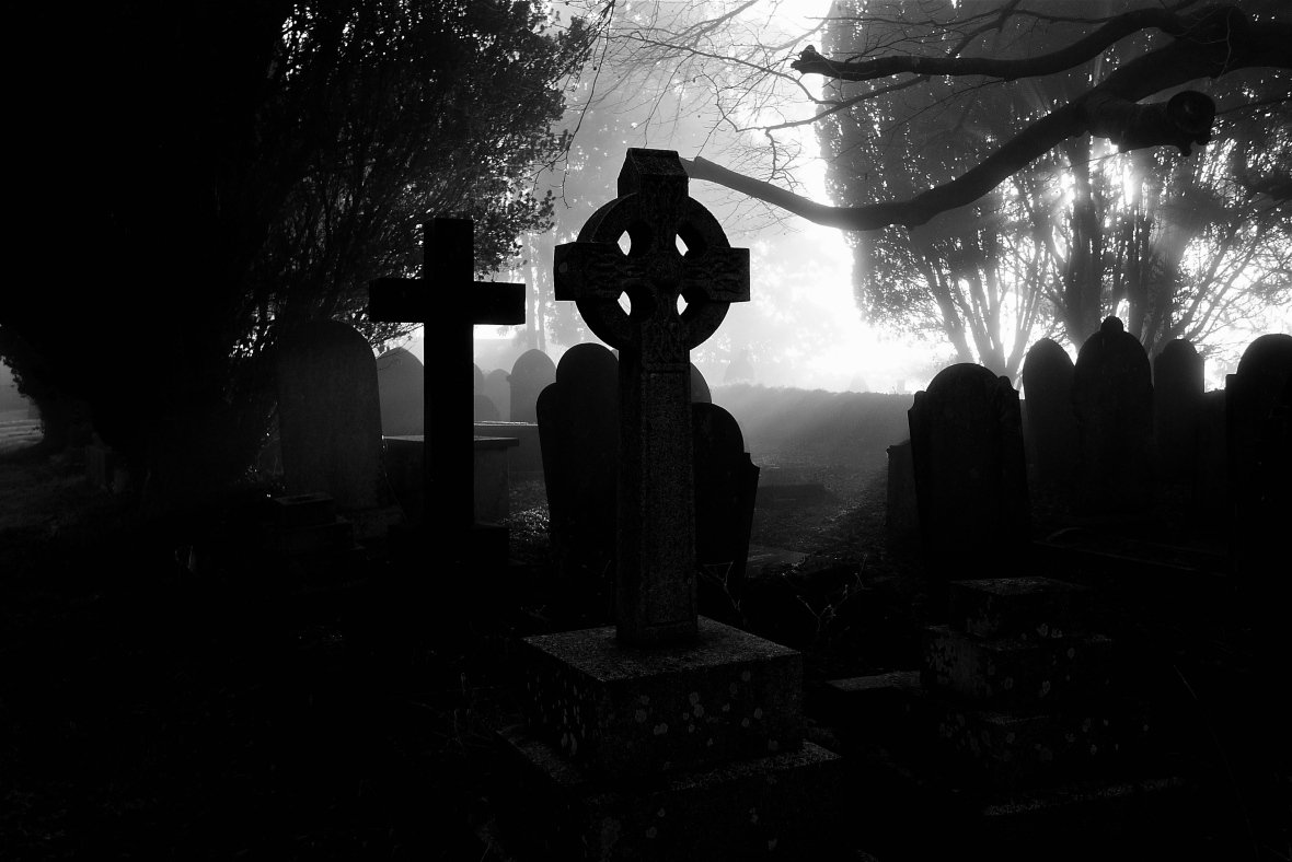 Любовный приворот на кладбище