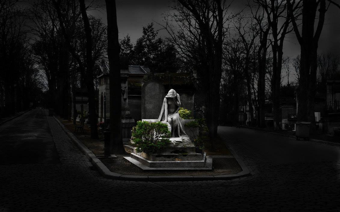 Кладбищенский приворот в новолуние