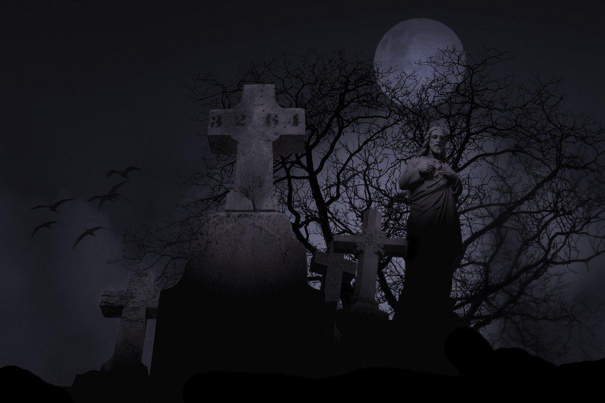 Кладбищенский любовный приворот