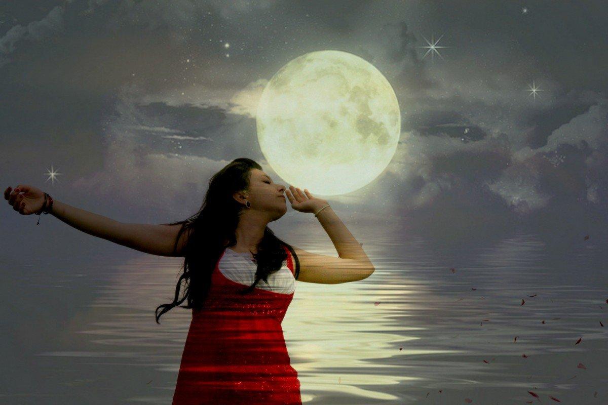 Лунный приворот на сон