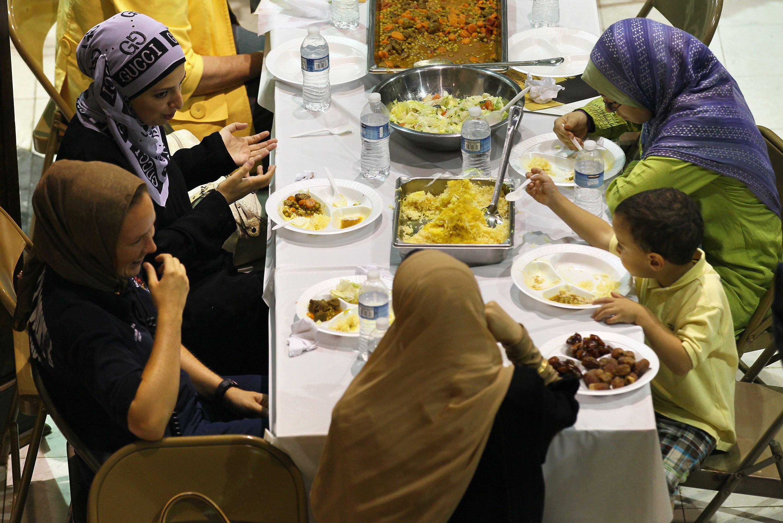 Мусульманский приворот с использованием еды