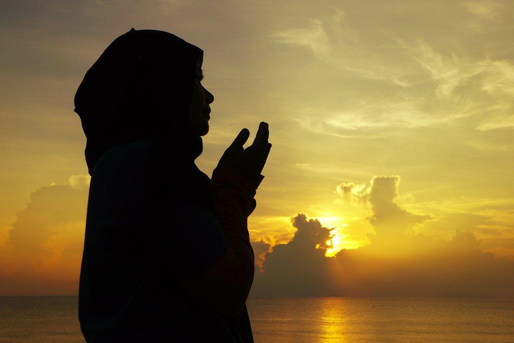 Мусульманский приворот с платком
