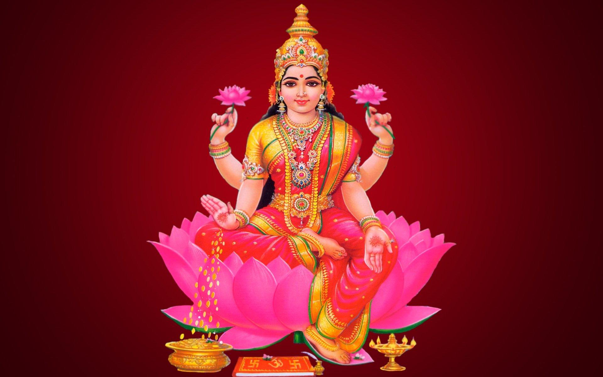 Мантра для привлечения денег богине Лакшми