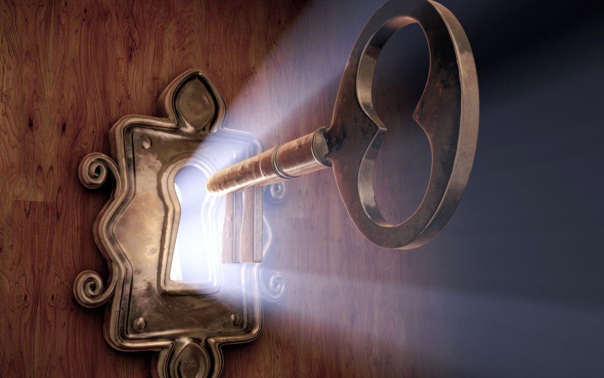 Заговор на деньги с помощью ключа
