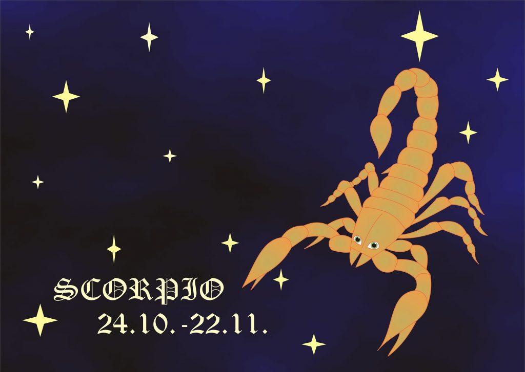 Знак зодиака Скорпион даты рождения